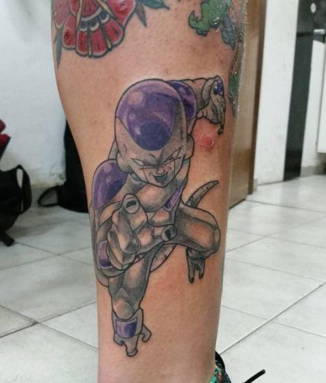 Anime Freeza Dragon Ball Tattoos