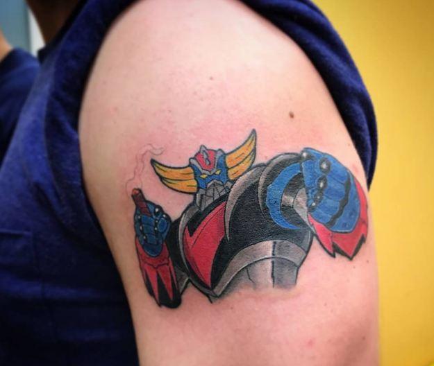 Anime Grendizer Tattoos