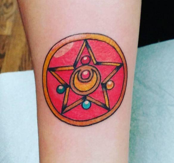 Anime Sailor Moon Tattoos