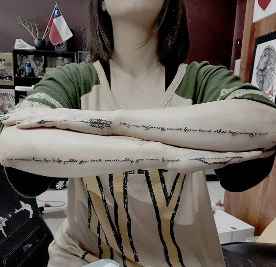 Arrow Tattoos For Girls