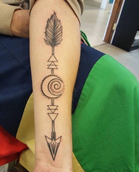 Arrow Tattoos On Arm