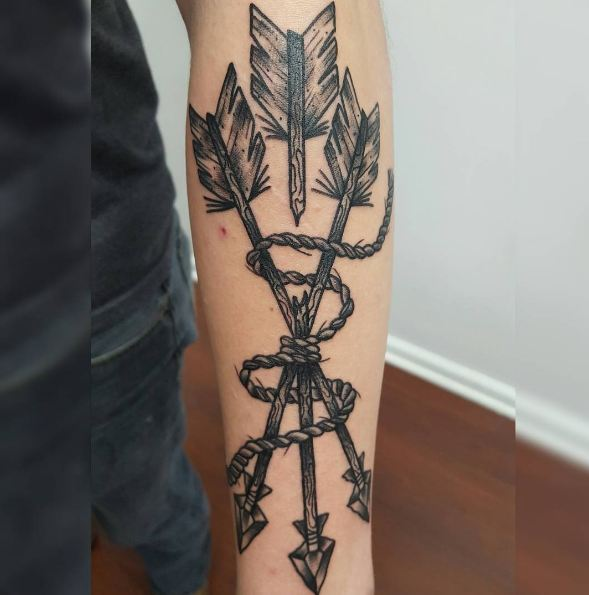 Arrow Tattoos On Sleeve