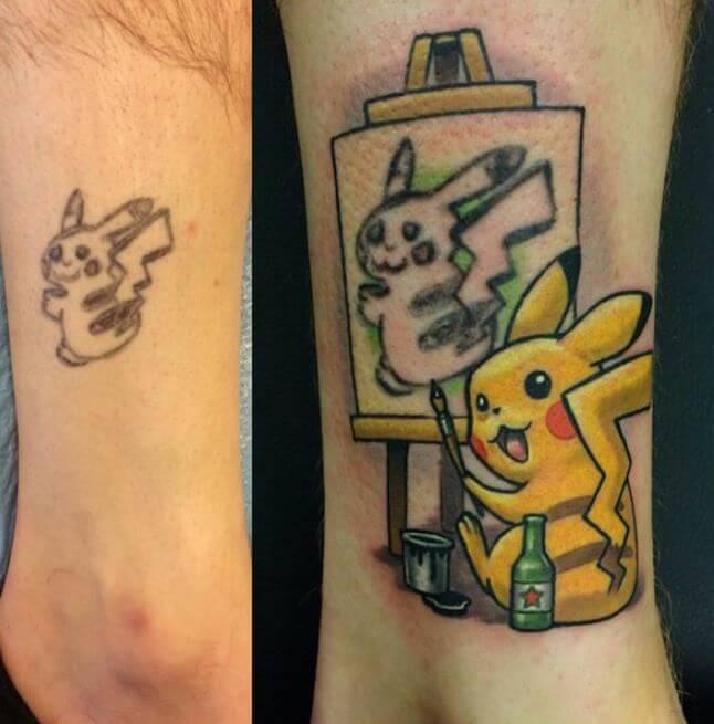 Bad Anime Tattoos