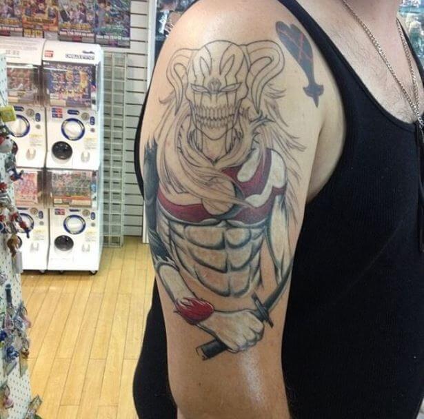 Bleach Anime Tattoos