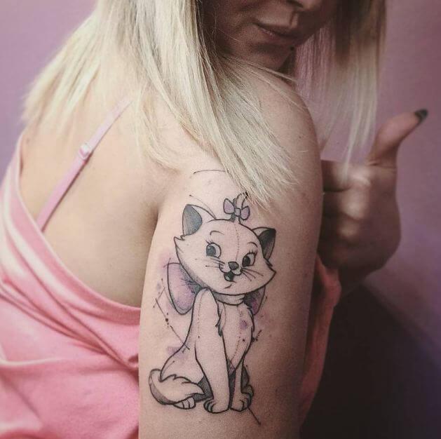 Cat Tattoos Pictures