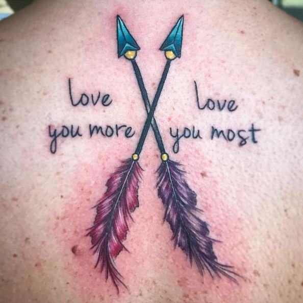 Colorful Arrow Tattoos
