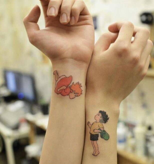 Cool Anime Tattoos