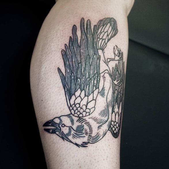Crow Raven Tattoos