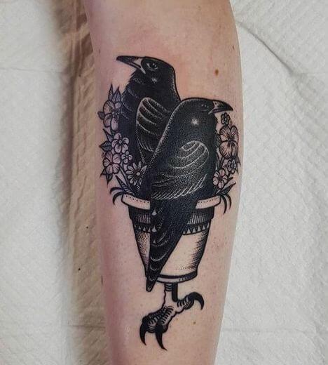 Crow Tattoos Designs