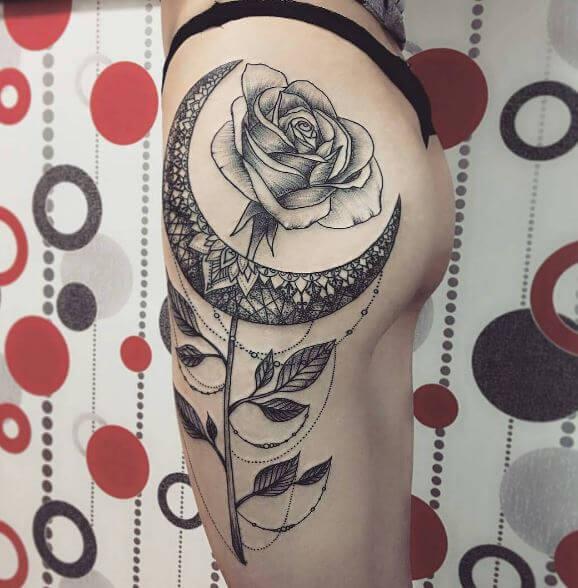 Cute Moon Tattoos