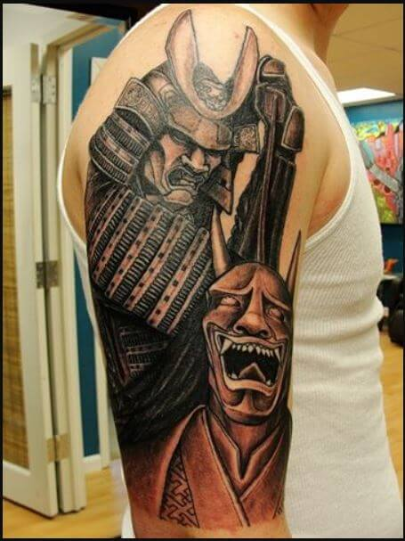 Demon Samurai Tattoo