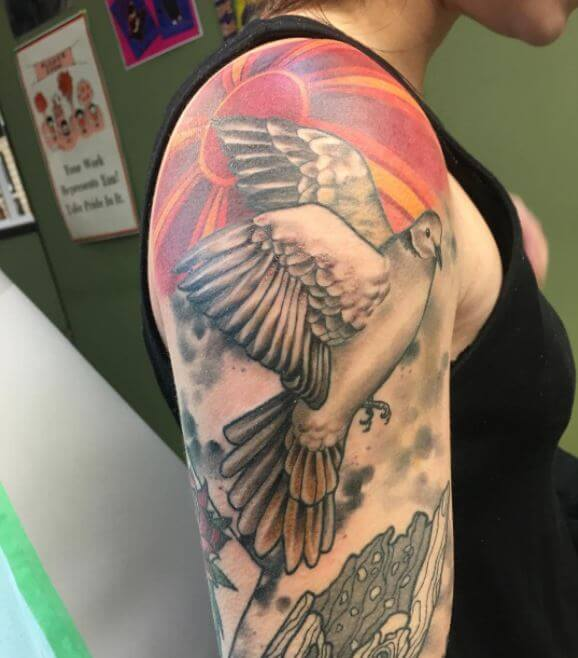 Dove Tattoos For Females