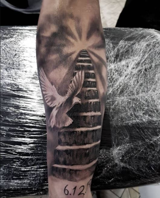 Dove Tattoos For Men On Arm