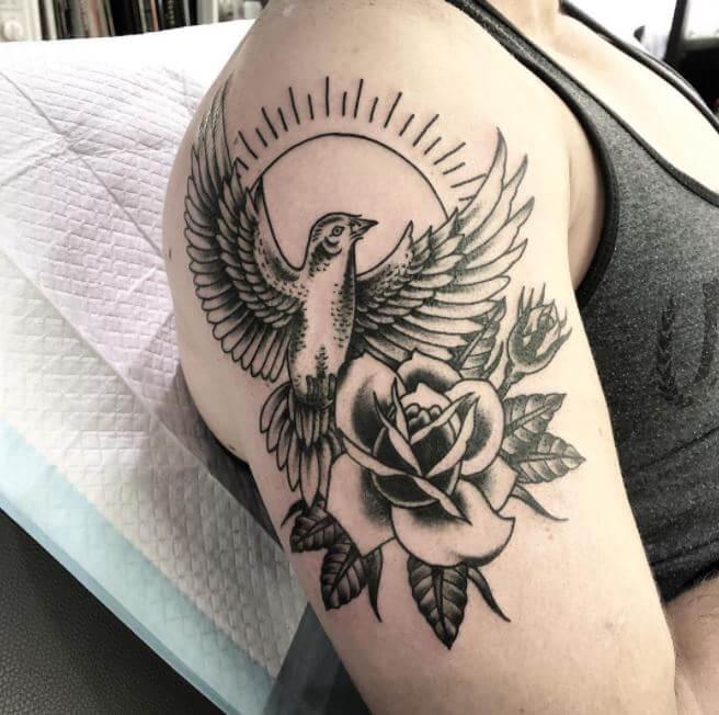 Dove Tattoos On Arm