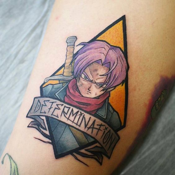 Dragon Ball Z Anime Tattoos