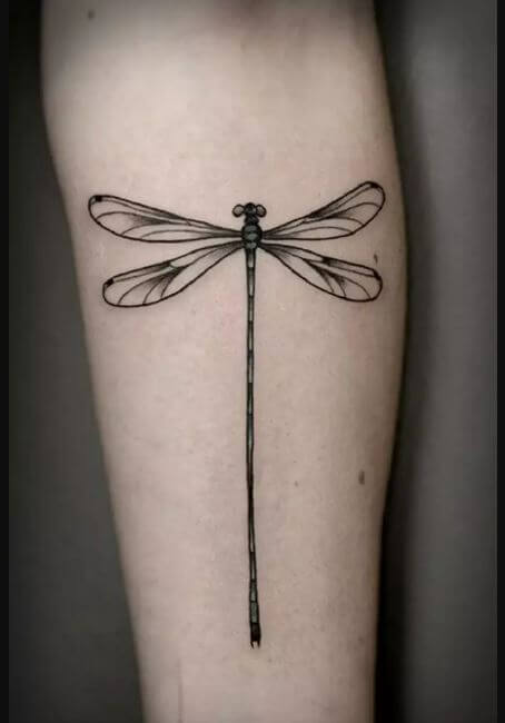 Dragonfly Tattoos On Back