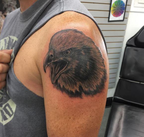 Eagle Tatto On Arm 16