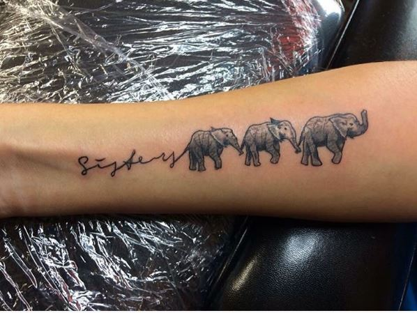 Elephant Sister Tattoos