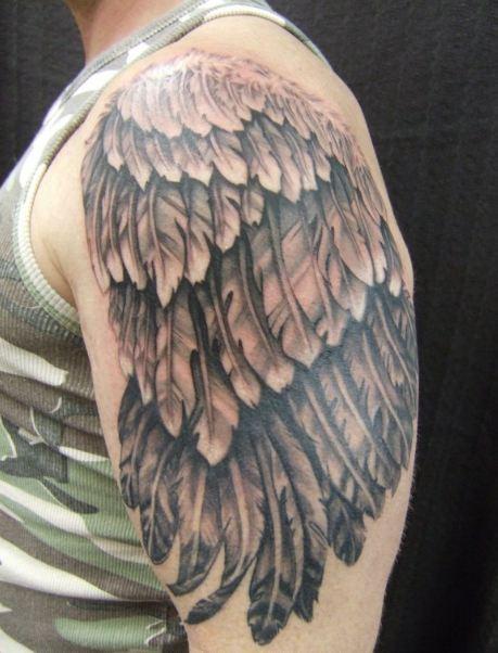 Feather Half Sleeve Tattoos