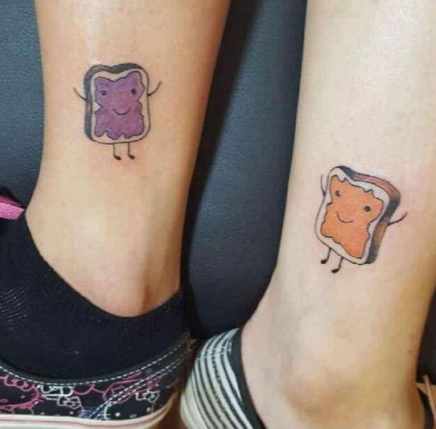 Funny Matching Tattoos