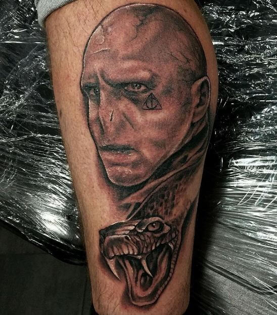 Harry Potter Lord Voldemort Tattoos