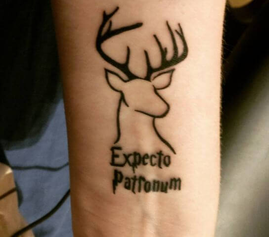 Harry Potter Patronus Tattoos