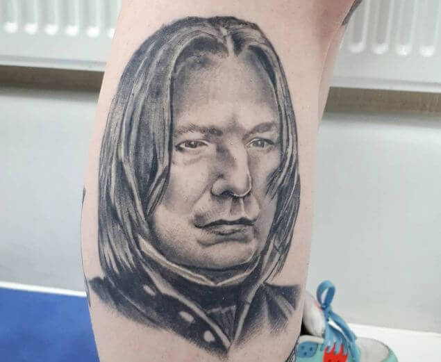 Harry Potter Severus Snape Tattoos