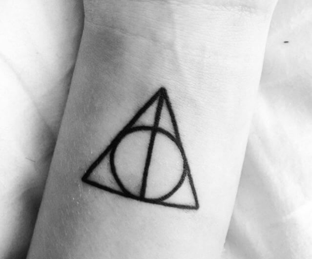 Harry Potter Tattoos Deathly Hallows