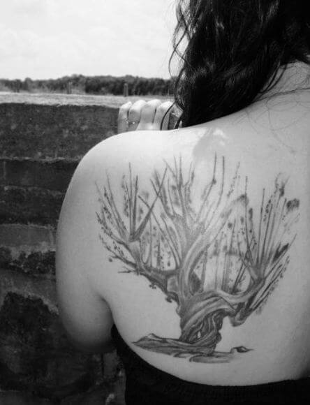Harry Potter Tree Tattoos