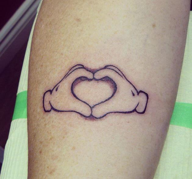 Heart Hands Tattoos