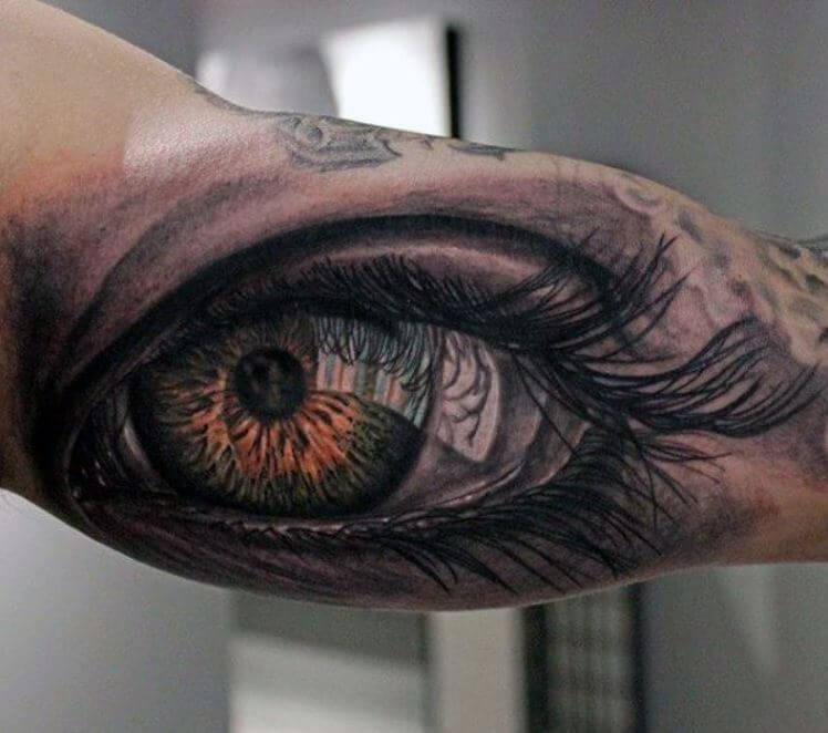 Inner Arm Tattoos For Men