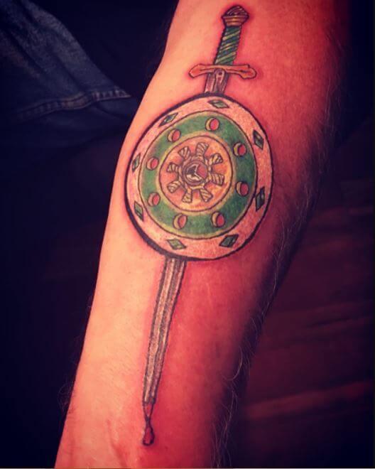 Irish Arm Tattoos For Men