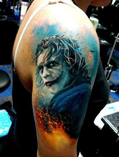 Joker Half Sleeve Tattoos