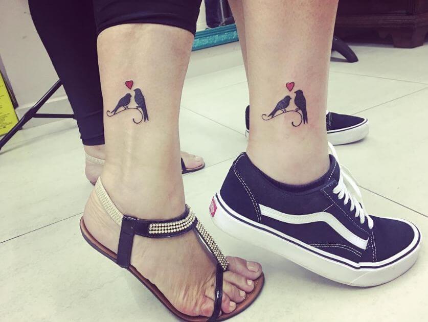 Matching Bird Tattoos
