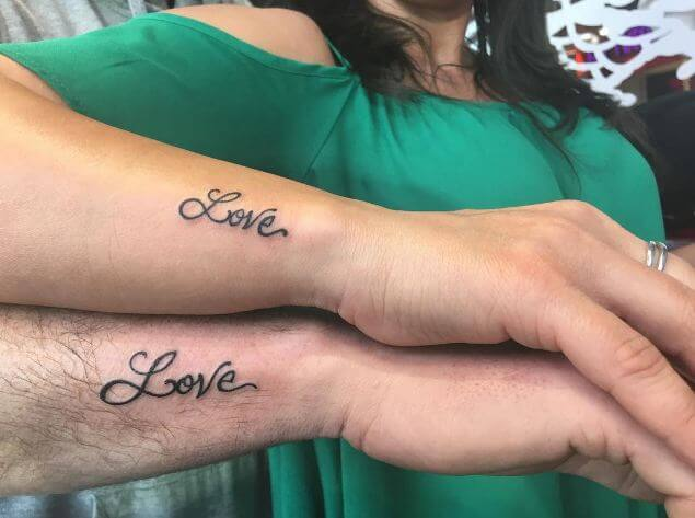 Matching Tattoos For Him And Her