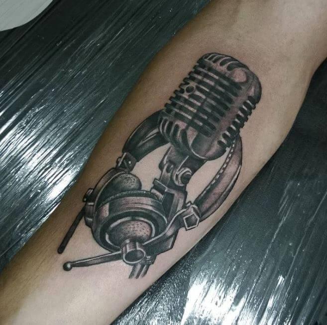 Music Arm Tattoos For Men