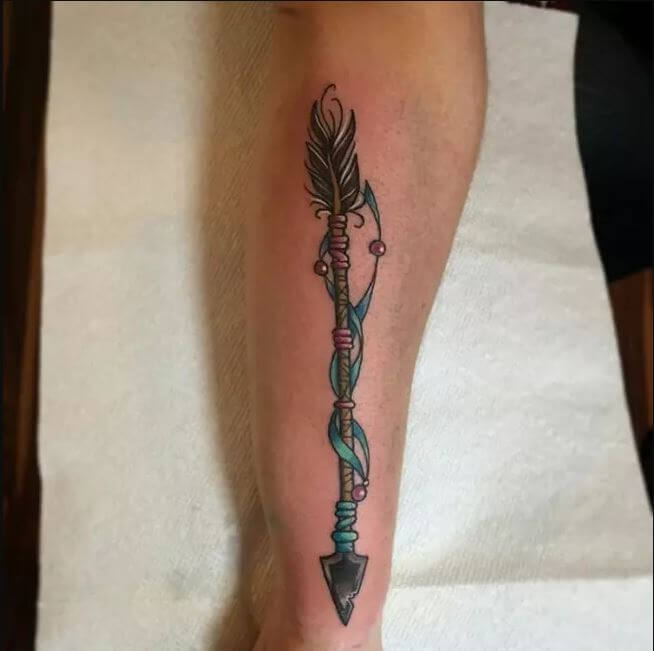 Native American Arrows Tattoo