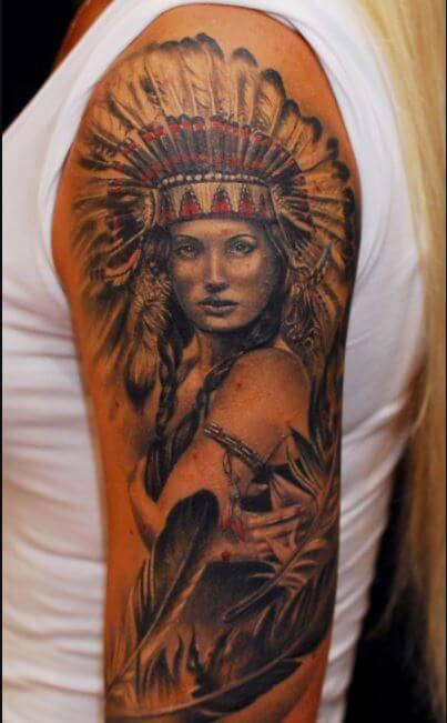 Native American Tattoos Designs