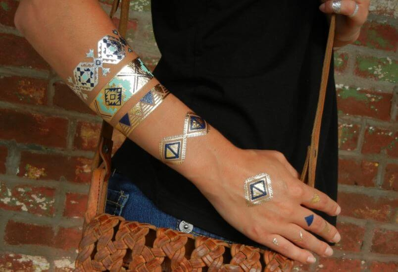 Native American Temporary Tattoos