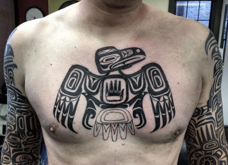 Native American Tribal Tattoo