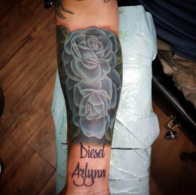 Rose Tattoos For Men On Arm