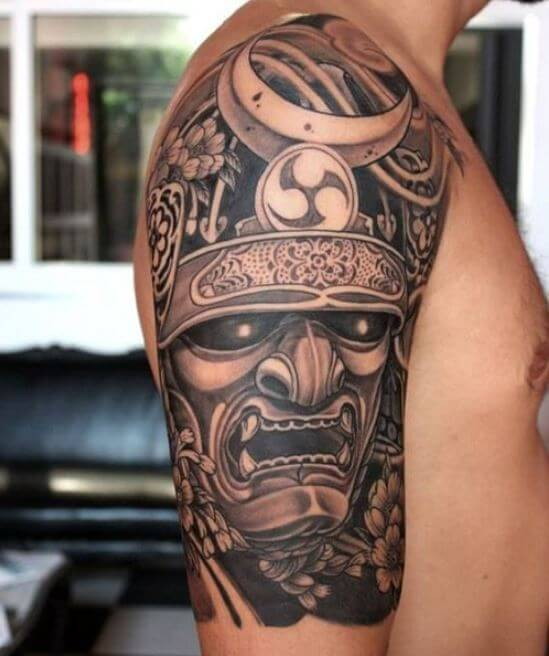 Samurai Mask Tattoo Meaning