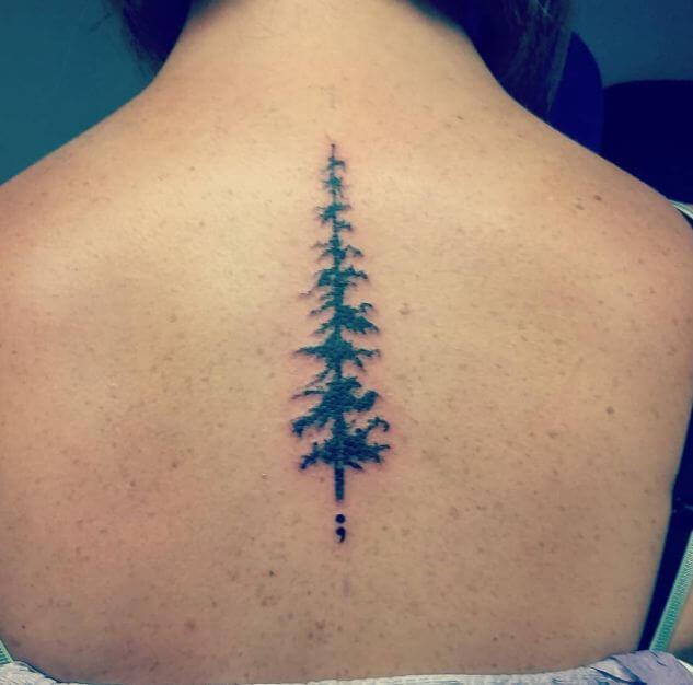 Semicolon Tattoo Ideas For Guys