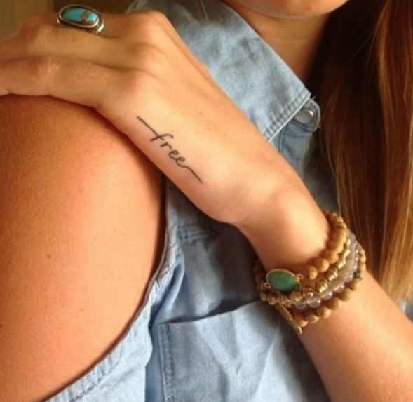Simple Tattoos For Girls