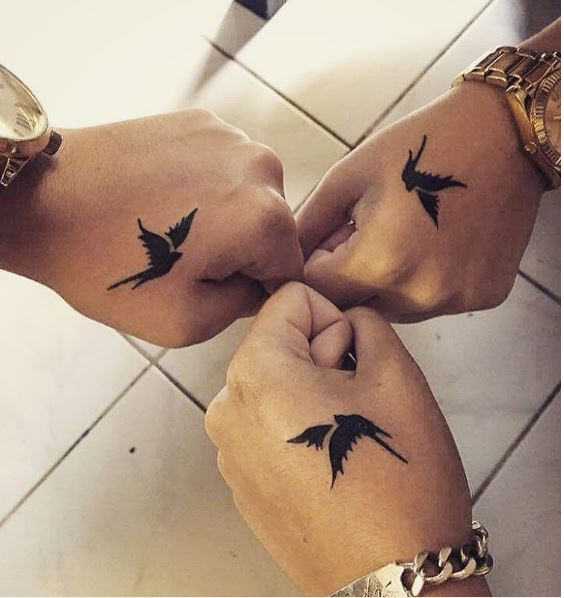Sister Friends Tattoos