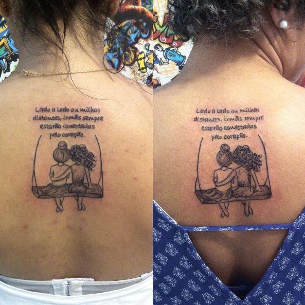 Sister Friendship Tattoos