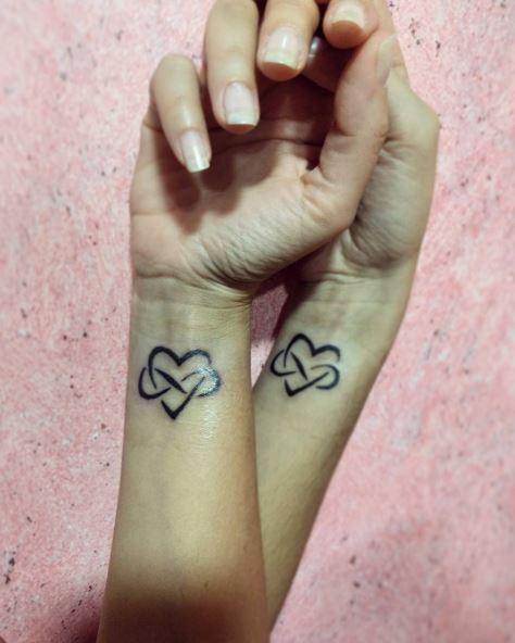 Sister Heart Tattoos