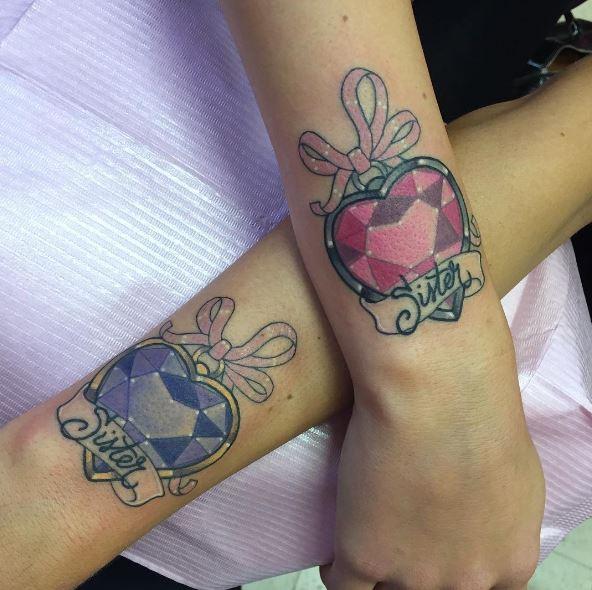 Sister Tattoos On Wrist