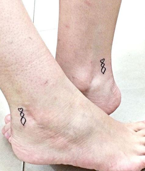 Tiny Sister Tattoos