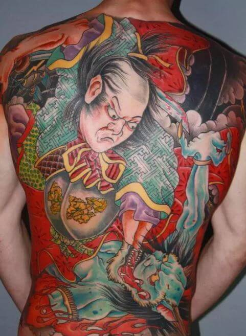Traditional Japanese Samurai Tattoo Designs
